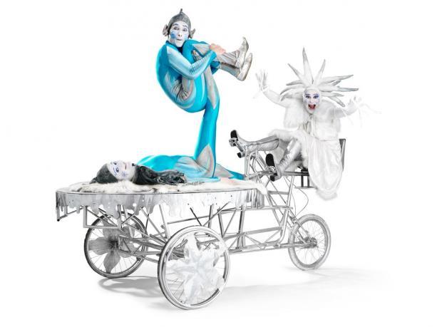 Snow Queen Sprites Snow Queen's Ice Chariot by